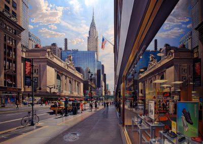 """""""Grand Central"""" Oil/linen, 50 x 68"""""""