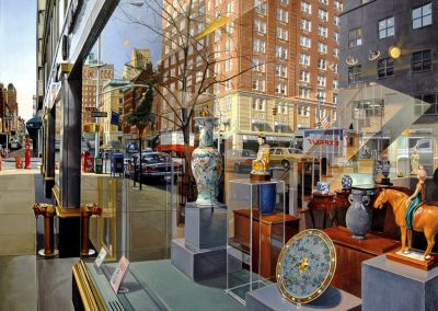 """Madison Avenue"" Oil/linen, 44 x 56"""